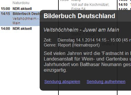 Deutsch Tv Program